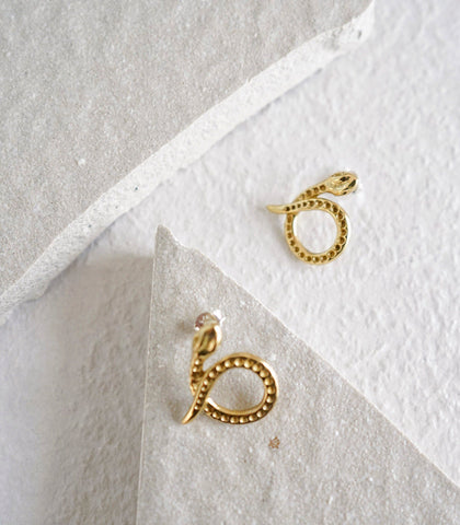 Earrings - Amarun Snake Earrings