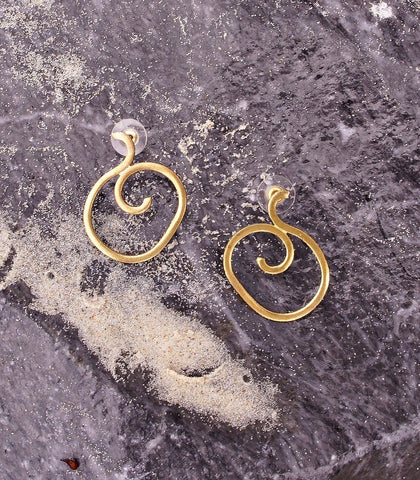 Earrings - Aquia Swirl Earrings