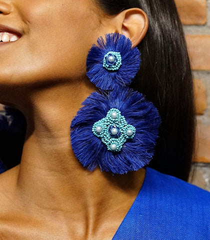 Earrings - Arriba Earrings (assorted Colors)
