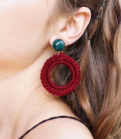 Earrings - Camila Macrame Earrings