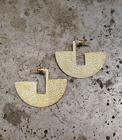 Earrings - Caraz Fan Earrings