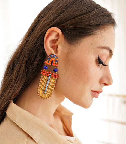 Earrings - Chipo Earrings - Yellow