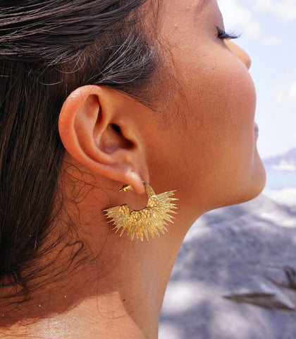 Earrings - Coris Sun Earrings