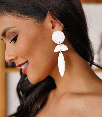 Divina Capiz Earrings