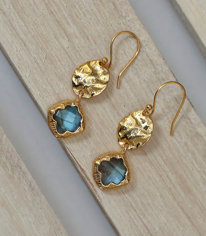 Earrings - Epona Labradorite Earrings
