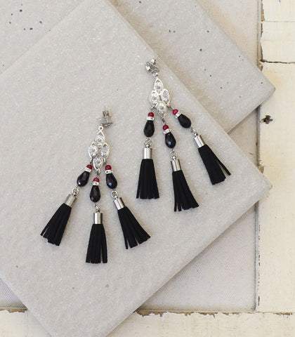 Earrings - Freya Fringe Earrings