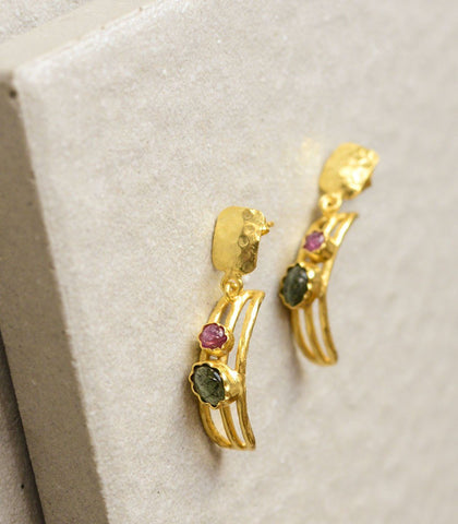 Earrings - Ghazal Tourmaline Earrings