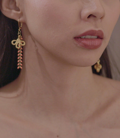 Earrings - Heyjow Cain Earrings - Asymmetrical