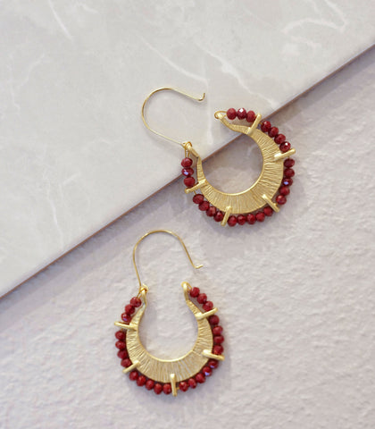 Earrings - Heyjow Kai Beaded Earrings