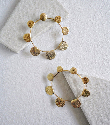 Earrings - Indi Oversized Hoop Earrings