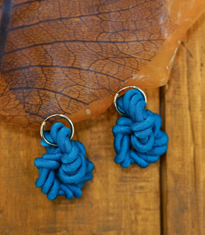 Earrings - Iris Link Knot Earrings