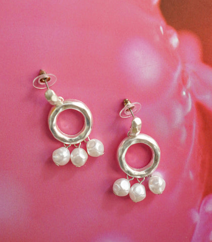 Earrings - Jinju Pearl Drop Earrings (2 Variants)