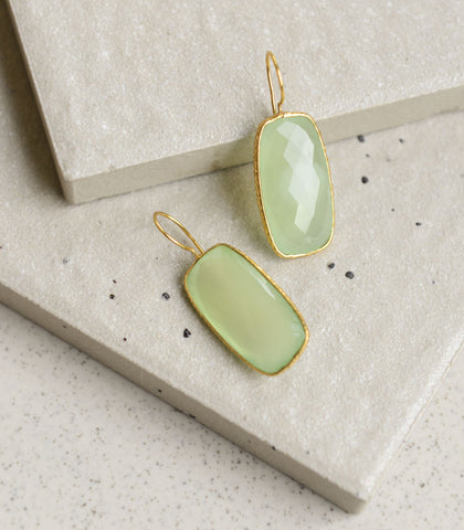 Earrings - Kharis Chalcedony Earrings
