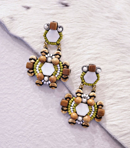 Earrings - Laraché Porta Beaded Earrings (2 Variants)