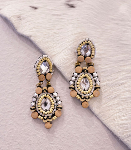 Earrings - Laraché Triva Beaded Earrings (2 Variants)