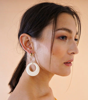 Merewif Hoop Earrings