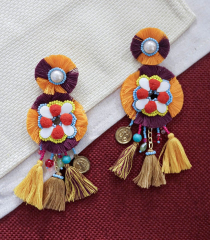 Earrings - Mexilola Tassel Earrings (2 Variants)
