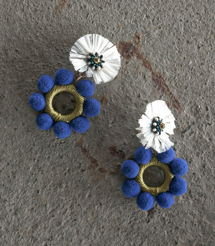 Earrings - Naflah Two-Way Clip Earrings