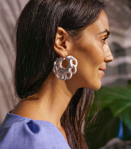 Earrings - Philippa Hoop Knot Earrings