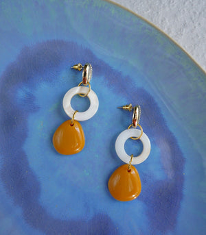 Sadee Shell Drop Earrings