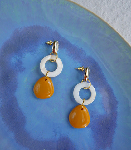 Earrings - Sadee Shell Drop Earrings