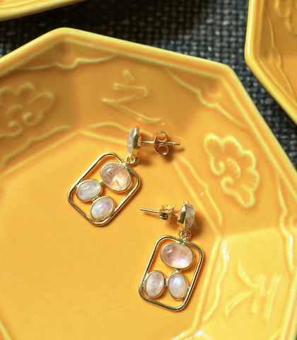Earrings - Sarya Moonstone Earrings