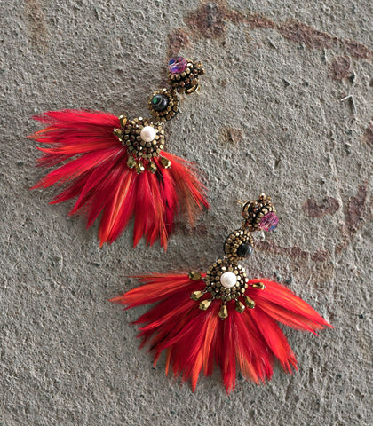 Earrings - Shaheen Four-Way Earrings