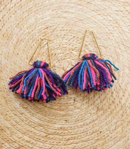 Earrings - Sol Ombre Earrings (Multicolor)