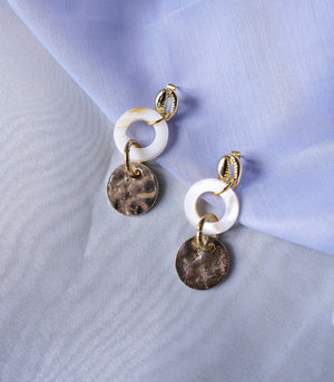 Tisbury Shell Drop Earrings