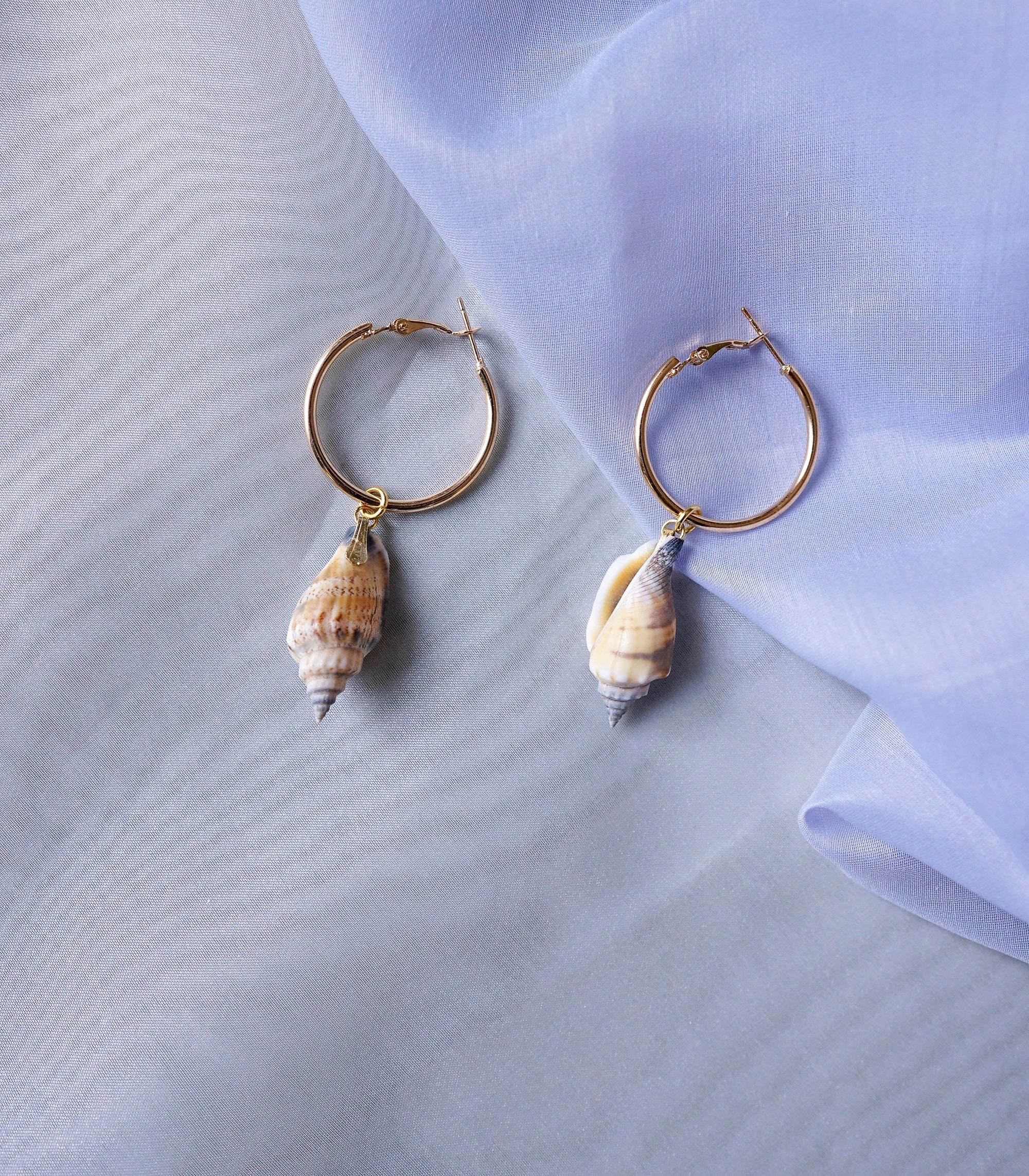 Waikiki Shell Hoop Earrings