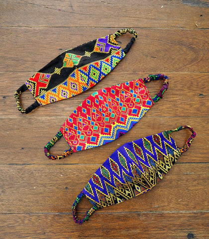 Face Mask - Assorted Malong Print Face Mask (Set Of 3)