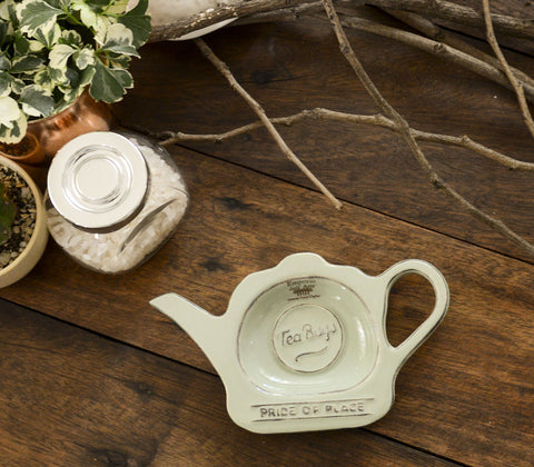 Fine Tea - Ceramic Tea Bag Plate