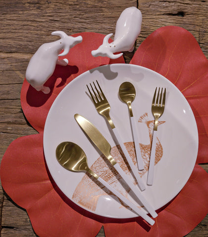 Flatware - Vasai Gold Flatware - 2 Variants