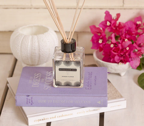 Fragrance - Bungalow 300 - Organic Scent Diffuser- Ginger Flower