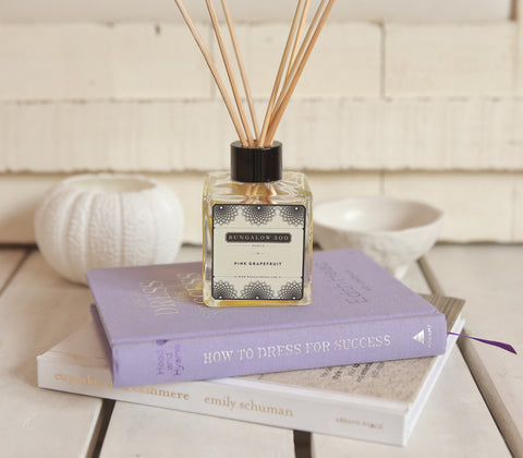 Fragrance - Bungalow 300 - Organic Scent Diffuser- Pink Grapefruit