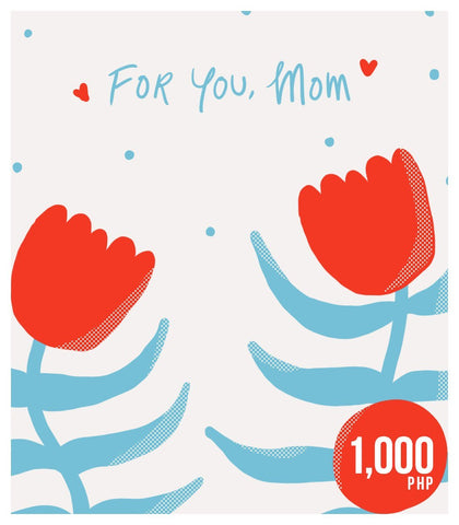 Gift Card - For You, Mom