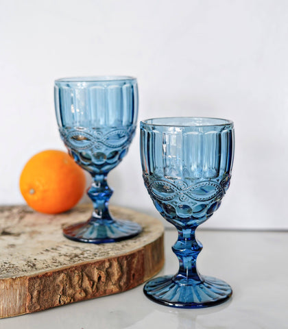 Glassware - Flore Wine Glass- Set Of 4 (300 Ml)