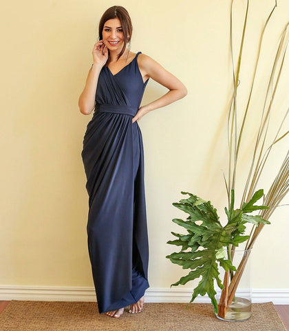 Gown - Rivne Draped Jersey Dress