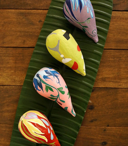 Handmade Decor - Folk Avocados