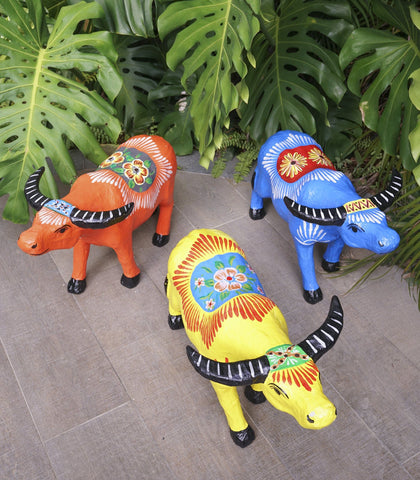 Handmade Decor - Multicolored Carabao Taka