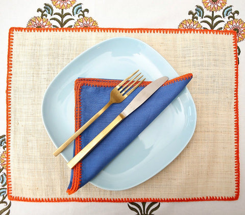 Home - Helena Placemats With Napkins ( Set Of 4 )