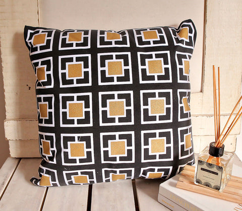 Home - Klimt Square Throw Pillow