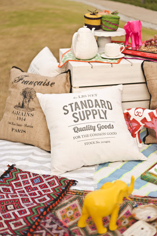 Home - Standard Supply Throw Pillow