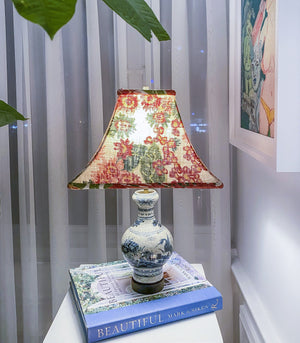 Lamp - Solano Chinoiserie Mini Jar Lamp (3 Variants)