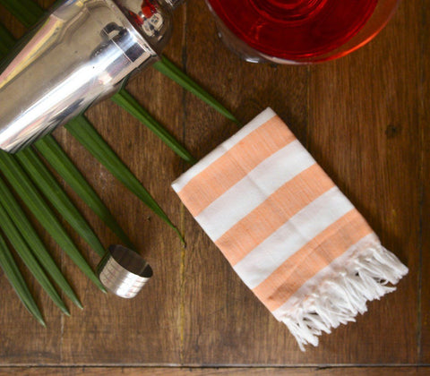 Napkins - Handwoven Cocktail Napkin ( Set Of 4 )