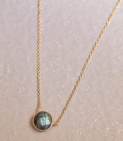 Necklace - Alana Labradorite Necklace