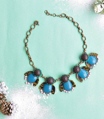Necklace - Guanta Bug Statement Necklace