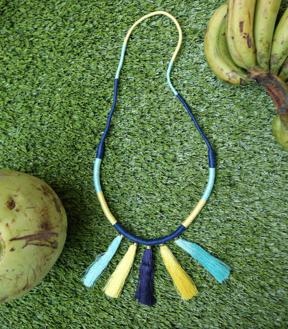 Necklace - Inagua Tassel Necklace