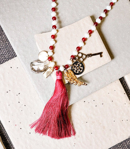Necklace - Joyce Makitalo Darshan Charm Necklace