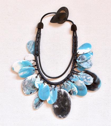 Necklace - Monu Marble Resin Necklace